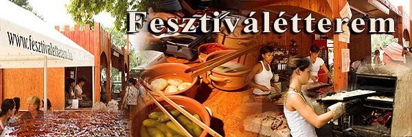 Fesztiválétterem - mobil kifőzde rendezvényekre